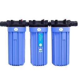 Pureau  1 H+  saltless water softener and filter system. For