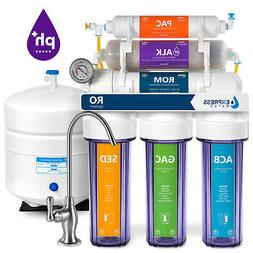 10-STAGE ALKALINE PH+ Home Drinking RO System Complete -100