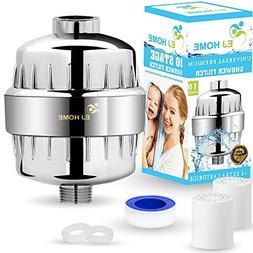10-Stage Shower Filter for Premium Body Care Experience - Gi
