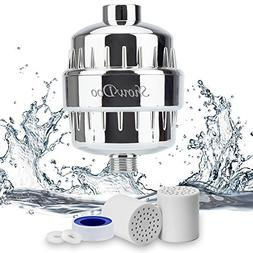 ShowDoo 10-Stage Shower Water Filter with 2 Cartridges - For