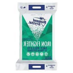 DIAMOND CRYSTAL 100012408 Water Softener Salt,40 lb.,Pellets