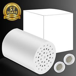 12-Stage Shower Filter Cartridge Replacement for Universal S