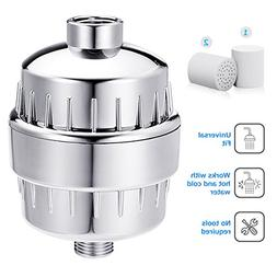 12-Stage Universal Shower Filter Showerhead Water Filter Wat