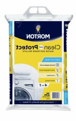 Morton Clean And Protect Water Softener Pellets 25 Lb