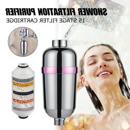 15 Bathroom Shower Filter Bathing <font><b>Water</b></font>