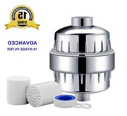 15-Stage Shower Head Water Filter  for Hard Water Softener R
