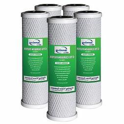 "4 x iSpring 2.5X10"" Carbon Block CTO Water Filter Replacemen"