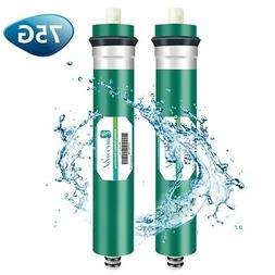 2x 75GPD RO Reverse Osmosis Membrane Replacement For iSpring