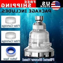 3 Mode High Pressure Shower Head Ionic Filtered Stone Stream