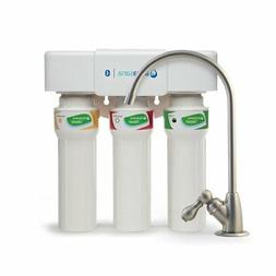Aquasana 3-Stage Max Flow Under Sink Water Filter System wit