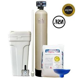"Fleck 5600 Econominder Water Softener System with 9"" X 48"" T"