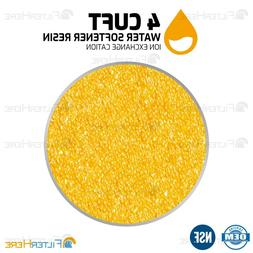 4 CU. FT Replacement Ion Exchange Resin for Water Softener +