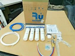 ISPRING 4-Stage 0.1 Micron Ultra-Filtration Under Sink   Inl