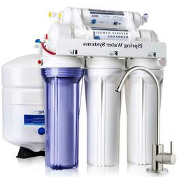 iSpring 5-Stage 75 GPD Alkaline Reverse Osmosis Water Filtra