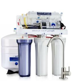 iSpring 5-Stage 75GPD Reverse Osmosis Water Filter System w/