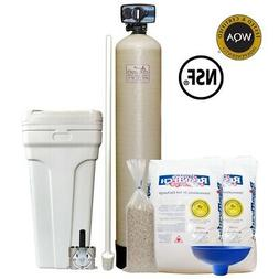 "Fleck 5600 Econominder Water Softener System with 12"" X 52"""