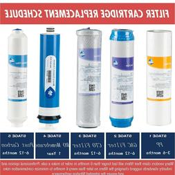 5Stage Reverse Osmosis System Replacemen Filter with RO Memb
