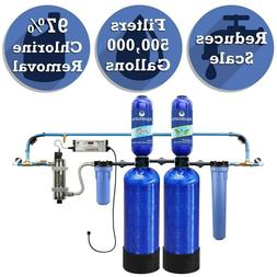 Aquasana 6-Stage 500k Gallon Whole House Well Water Filter S
