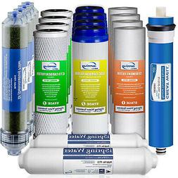 iSpring 6-Stage 75GPD DI RO 2-Year Replacement Filter Pack#F