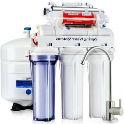 iSpring 7-Stage Under-Sink Reverse Osmosis System 75GPD RO W