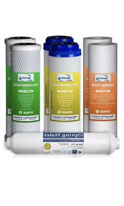 iSpring 7PK-GAC F7-GAC 1-Year Filter Replacement Supply Set