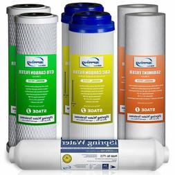 iSpring 7PK-GAC F7-GAC 1-Year Filter  Supply Set For 5-Stage