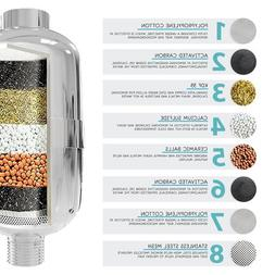 8 Layer Filter Set Sprinkler Shower <font><b>Water</b></font