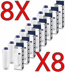 8x Delonghi Filter Water Softener Dlsc002 Ecam Esam Etam Ec8
