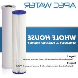 APEC 2-Stage Whole House Water Filter System with Sediment a