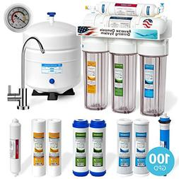 Express Water 5 Stage Under Sink Reverse Osmosis Filtration