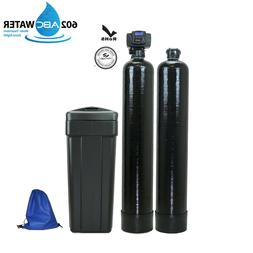 ABCwaters built Fleck 5600sxt Water Softener + Upflow Carbon