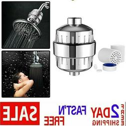 Aqua AquaBliss High Output Shower Filter with Replaceable Mu