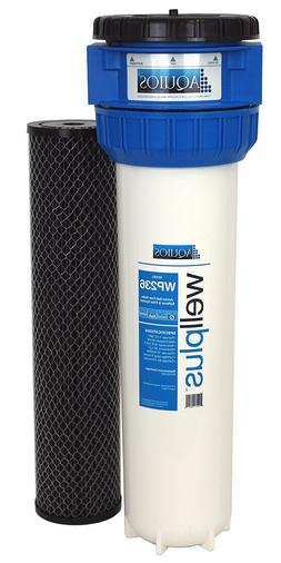 Aquios® WellPlus™ Jumbo Salt Free Water Softener & Filter