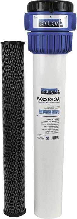 Aquios® WellPlus™ Standard Salt Free Water Softener & Fil