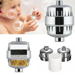 Bath Shower Head Filter Faucet Water Purifier Softener Remov
