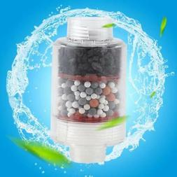 Bathroom Water Purifier Softener Shower Head Filter Chlorine