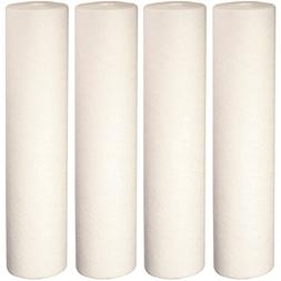 "Big Blue Sediment Replacement Water Filters 4pcs  4.5"" x 20"""