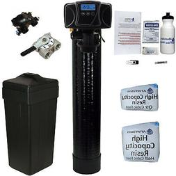 Black Digital Water Softener 24 Kilograin Capacity Fleck 560