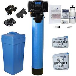 Blue Water Softener 24k with #1 Fleck 5600SXT Usage Based Co
