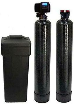 built fleck 5600sxt water softener and upflow