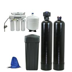ABCwaters built Fleck 5600sxt Water Softener + Carbon Filter
