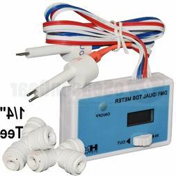 HM Digital DM-1 Inline Dual TDS Monitor Online RO DI Water F