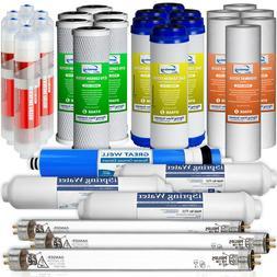 iSpring F31KU75 3-Year Set for 7-Stage UV Alkaline Reverse O