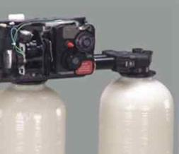 Fleck 9100 water softener control valve dual tank replacemen
