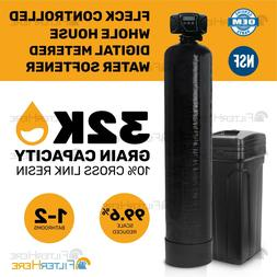 FLECK Controlled Whole House Digital Water Softener System -