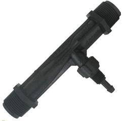 "Mazzei  Gas/Liquid Injector - Polypropylene Black 1"" MNPT"