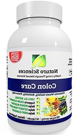 Naturo Sciences Colon Care - Gently Detoxify your Insides -