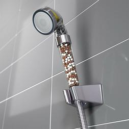 High Pressure <font><b>Water</b></font> Saving Shower Head <