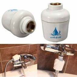 In-Line Shower Bath Head Purifier Water Softener Filter Heal