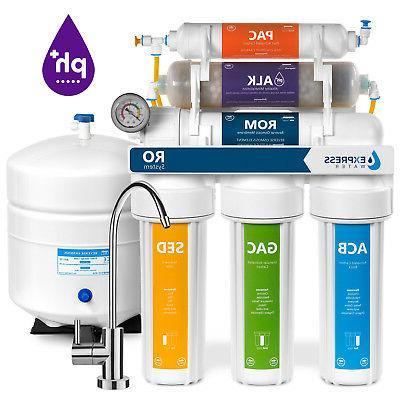 10-Stage Undersink Reverse Osmosis + Alkaline Mineral Water